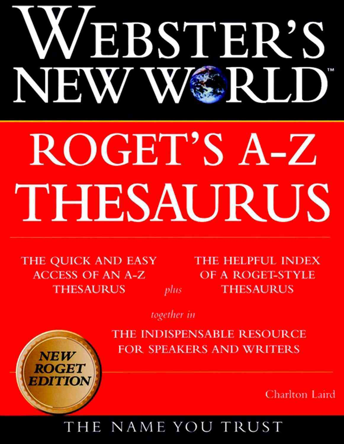 Webster's New World Roget's A-Z Thesaurus By Laird, Charlton/ Websters New World (EDT)/ Agnes, Michael